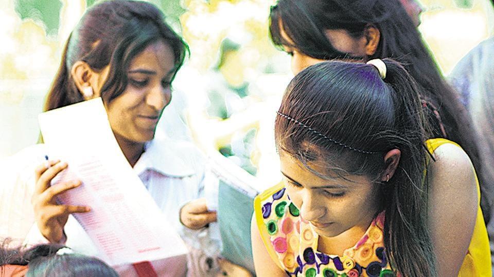 Admissions processes continue in Delhi University.