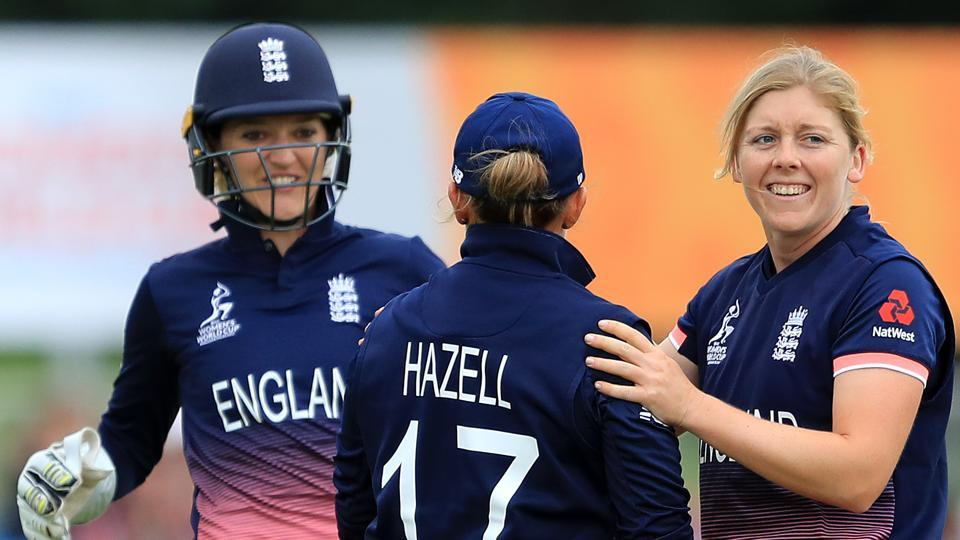 England have beaten Pakistan by 107 runs (D/L method) in the ICC Women's World Cup. Catch full cricket score of England vs Pakistan, ICCWomen's World Cup here.