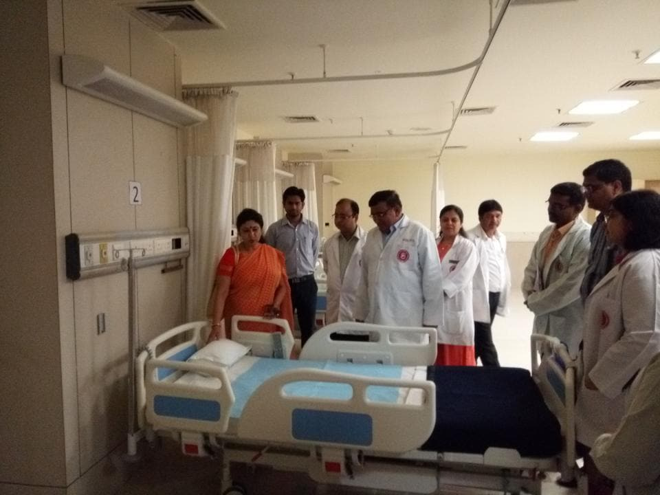 Noida,Noida news,child hospital