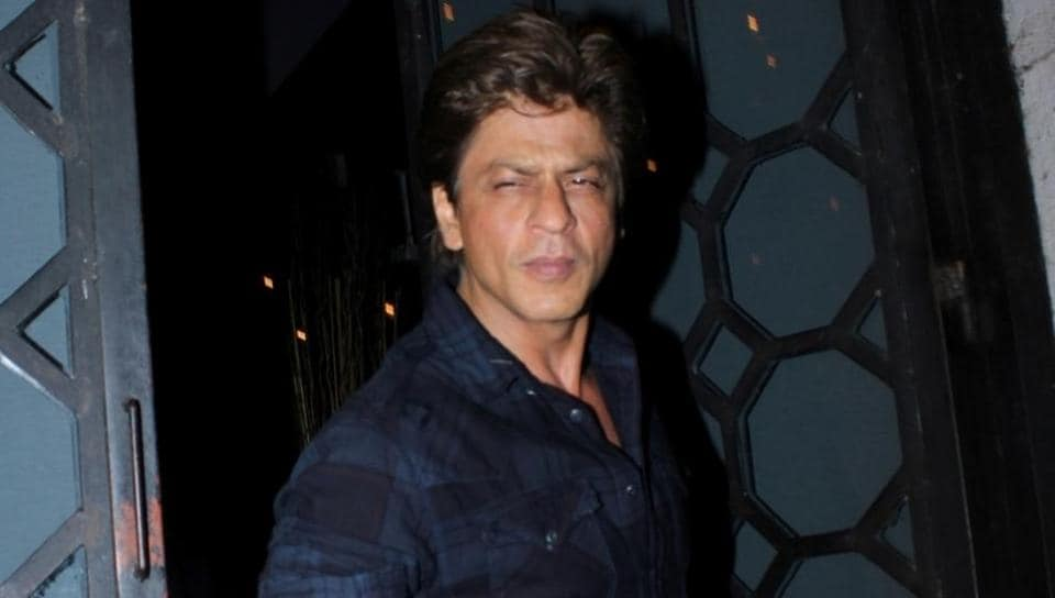 Shah Rukh Khan snapped at The Korner House party in Mumbai on June 10, 2017. Shah Rukh Khan will be seen in Imtiaz Ali`s movie called Jab Harry Met Sejal for the first time.