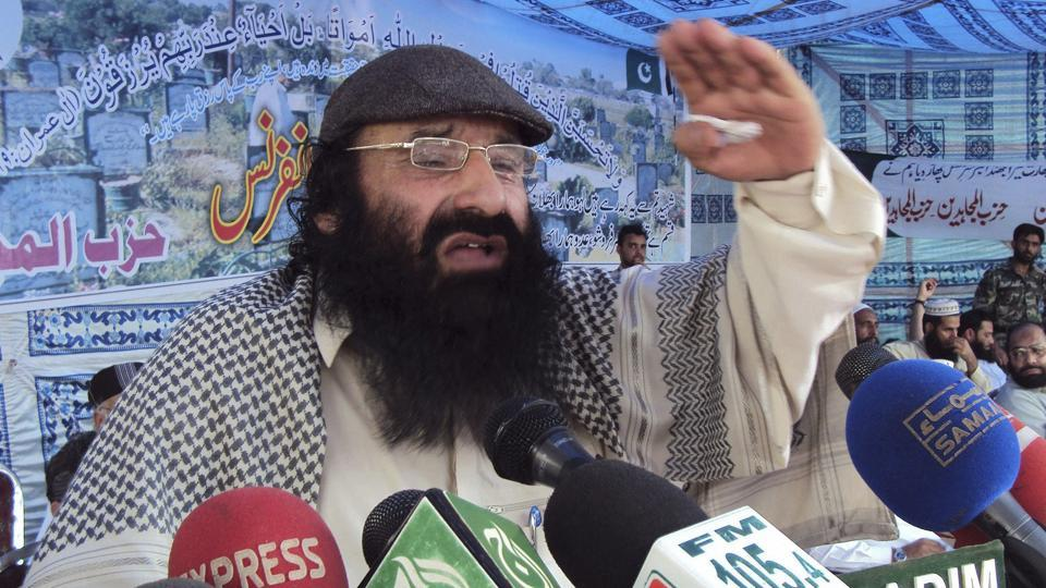 Syed Salahuddin is the head of the Kashmiri militant group Hizbul Mujahideen.