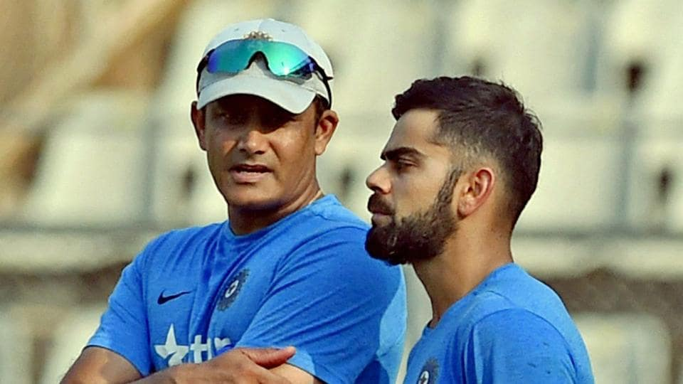 Virat Kohli-led Indian cricket team is currently without  a head after Anil Kumble's resignation.