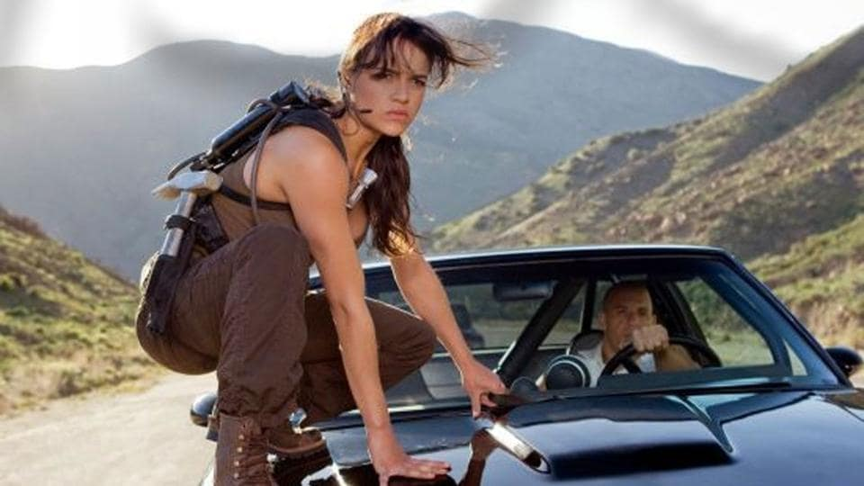 Michelle Rodriguez, who plays Letty in the Fast & Furious films, has threatened to quit the series.