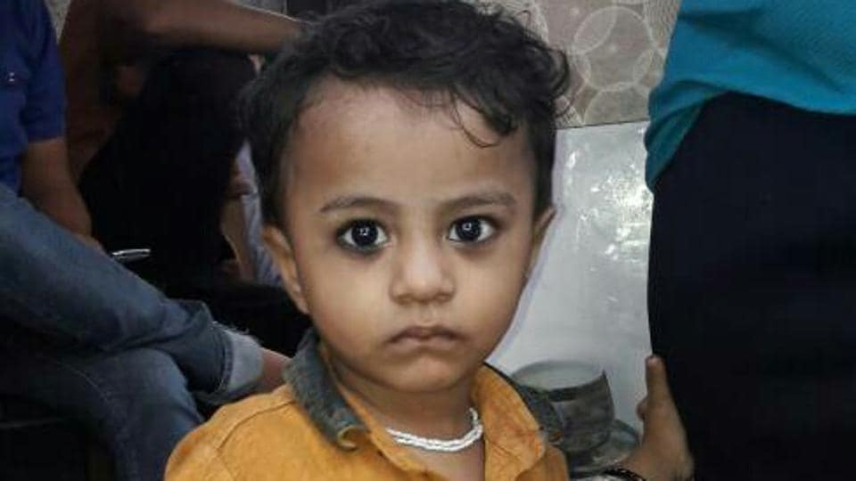 The boy Vivaan Kandu was last seen with a relative, who claimed that she had dropped him near his house.