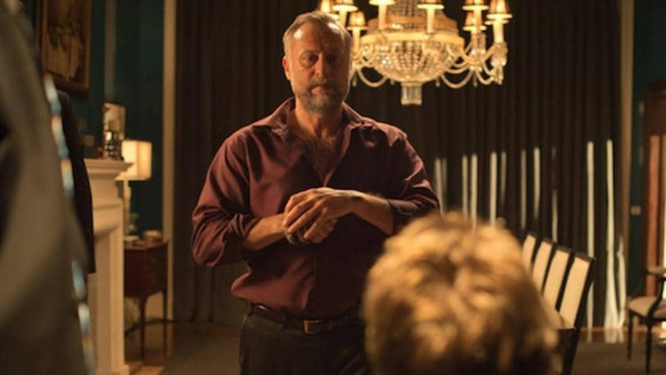 Michael Nyqvist in a still from John Wick.