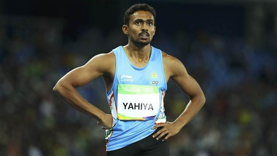 Muhammed Anas is thenational 400 metres record holder.