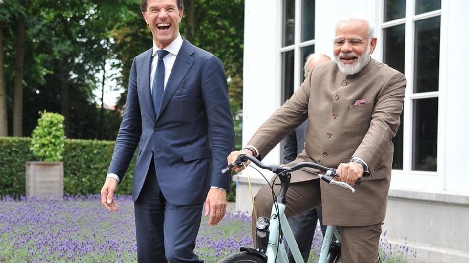 Dutch PM,Mark Ruttee,Narendra Modi
