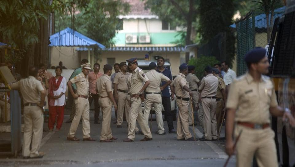 Police security inside Byculla jail  (File Photo)