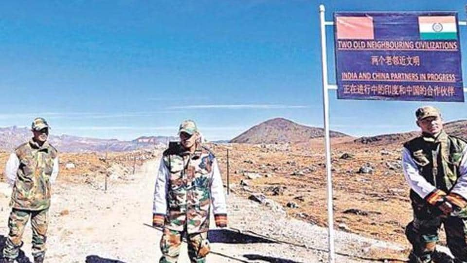 Army personnel along the India-China border in Arunachal Pradesh.