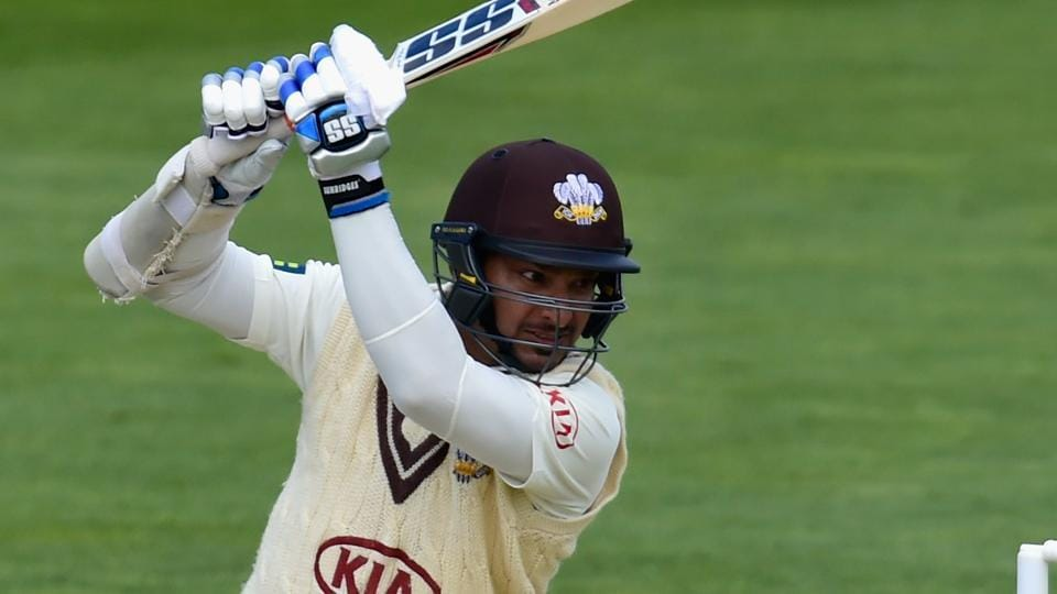 Kumar Sangakkara continued his magnificent run as he blasted his sixth century and went past 1000 runs in the ongoing County season.