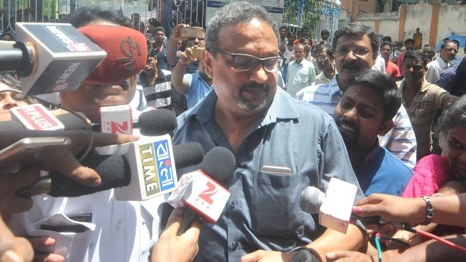 Narada chief Mathew Samuel summoned by Muchipara Police in connection with Narada Sting operation in Kolkata, India on June 15, 2017.
