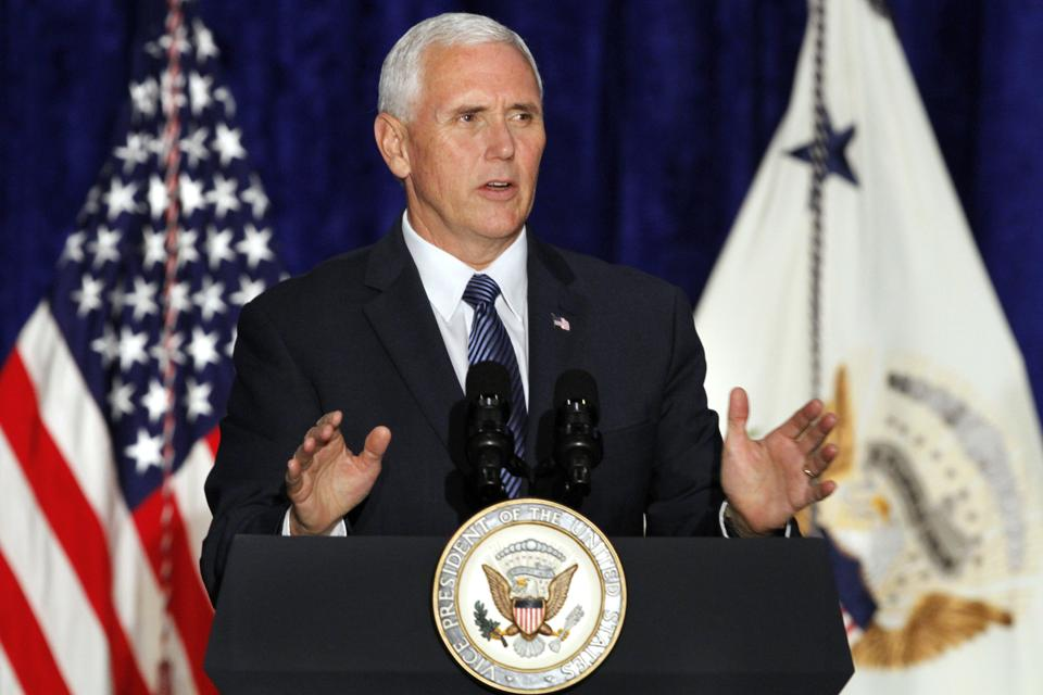USvice president Mike Pence said he wishes to be the first governor from Indiana to visit India.