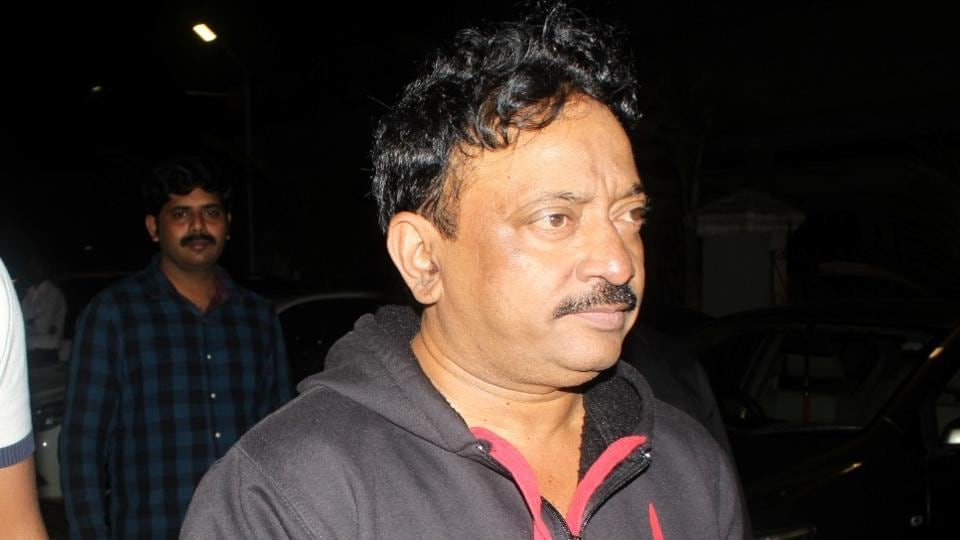 Ram Gopal Varma during the screening of film Sarkar 3 in Mumbai.