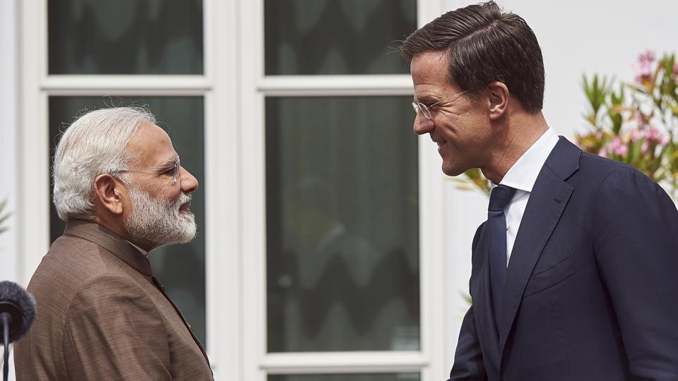 PM Modi,Modi foreign trips,Modi in Netherlands