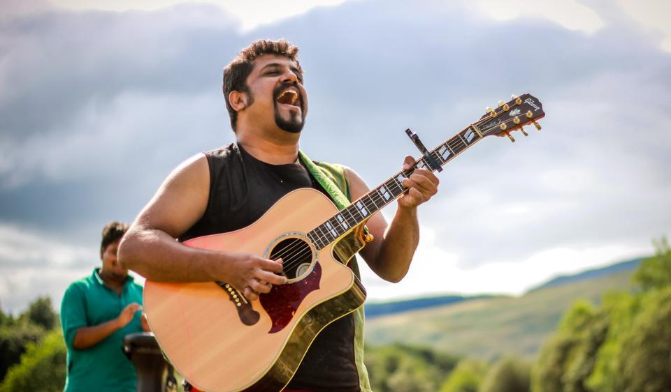Raghu Dixit  last performed in Delhi in March.