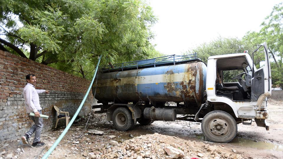 Each tanker cost Rs 3,000 to Rs 4,000 in the market and as the demand is high during summer, these units were making a killing.