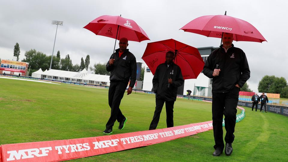 New Zealand vs South Africa got called off due to unfit playing conditions on account of heavy rains.