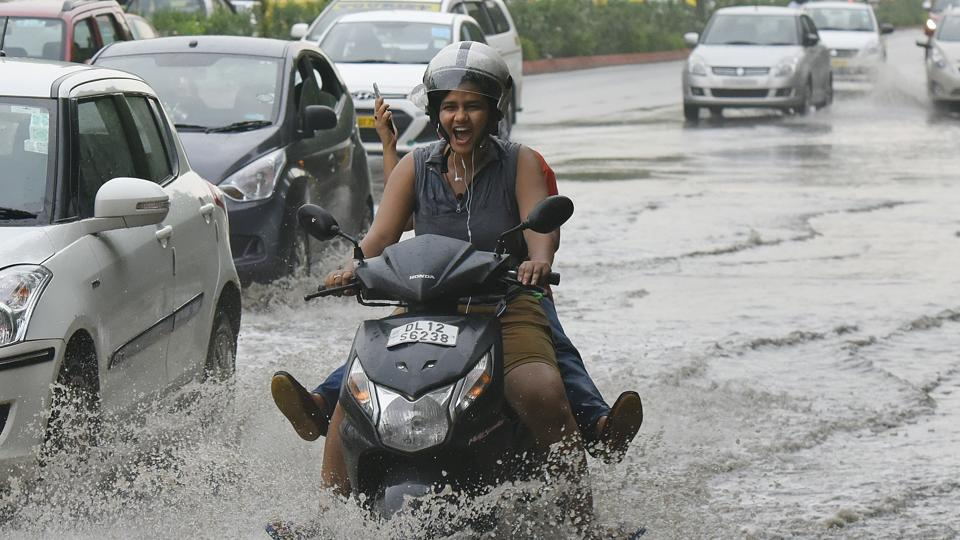 Rain,traffic jams,monsoon