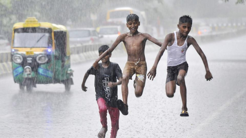 The rain was a cause of cheer among residents as it brought them much-needed relief from the high temperatures of the past few days.