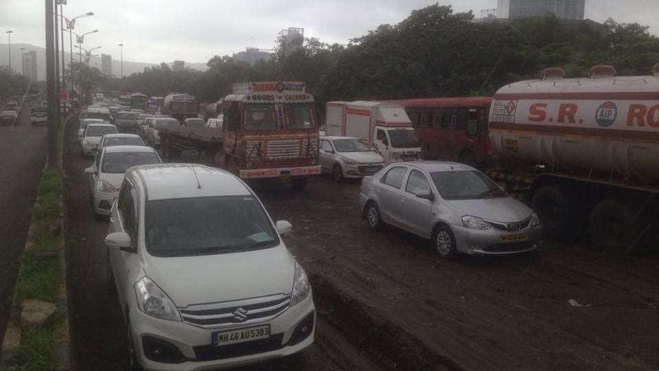 Mumbai city news,Traffic jam,Mumbai