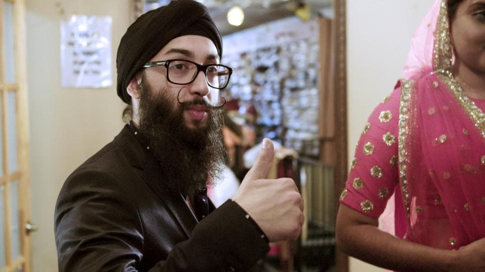 Chandan Singh of Chandan Fashions, in a still from the documentary Little India: Village of Dreams.