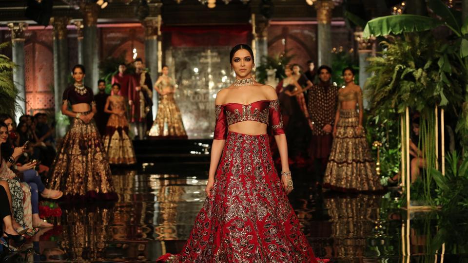 Deepika Padukone walked for designer Manish Malhotra in last year's edition of India Couture Week.