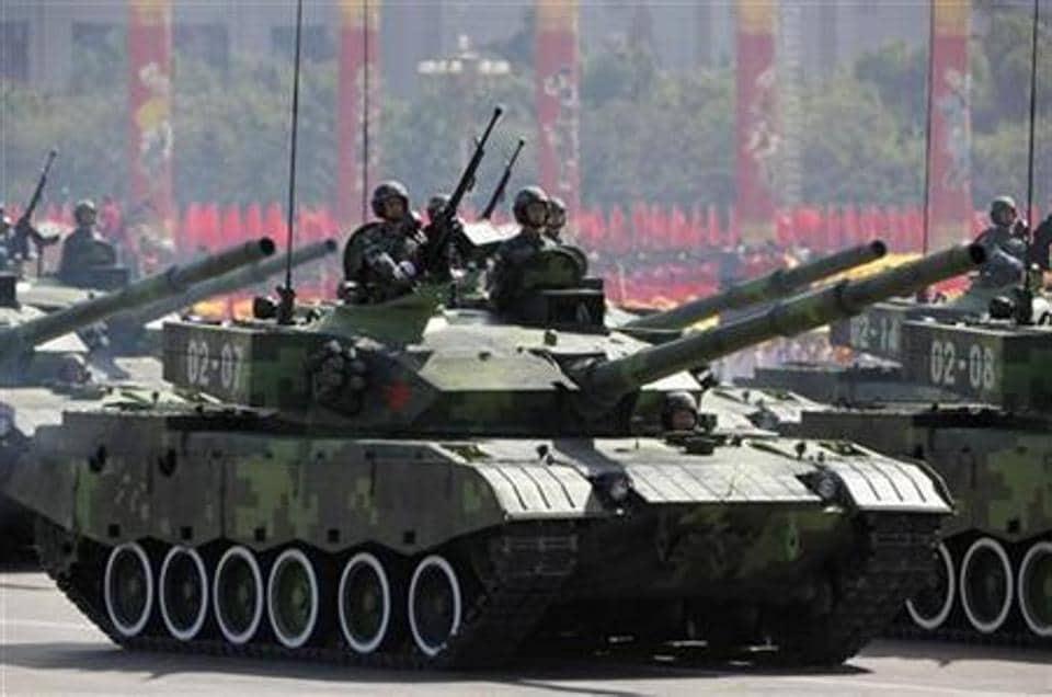 Reports said Xinqingtan includes a 105-millimeter tank gun, a 35-millimeter grenade launcher and a 12.7-millimeter machine gun.