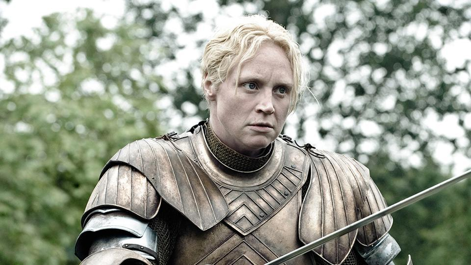Gwendoline Christie,Game of Thrones,Robert Zemeckis