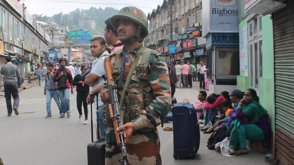 With the all-party unanimously deciding to continue the bandh, this scene on the streets of Darjeeling is not going to change in the near future.