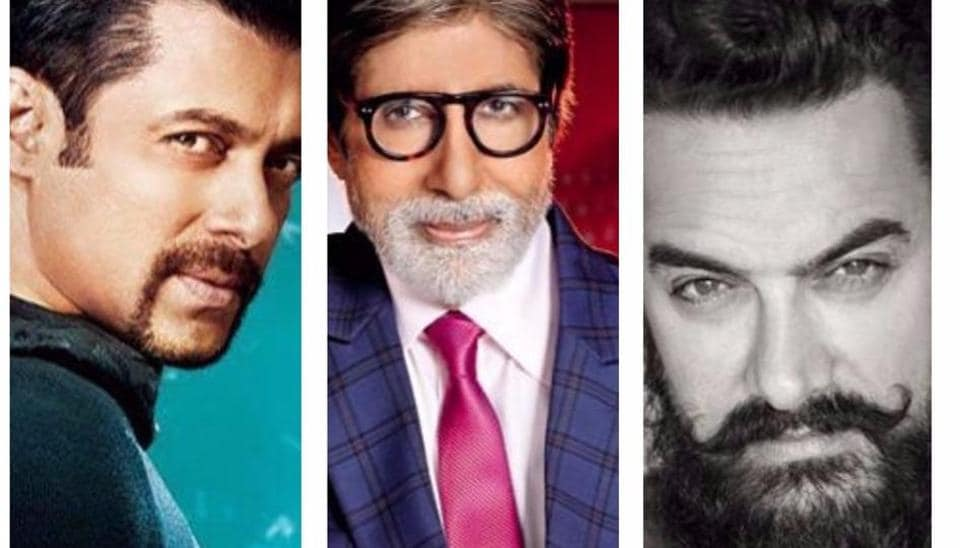 Amitabh Bachchan,Aamir Khan,Salman Khan