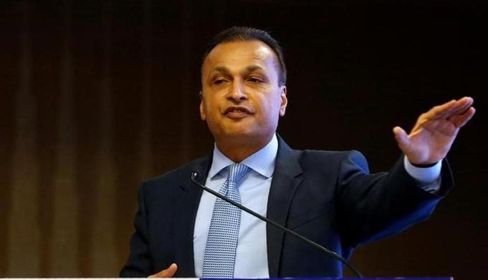 Anil Ambani, Chairman of India's Reliance Communications,  in Mumbai, on June 2, 2017.