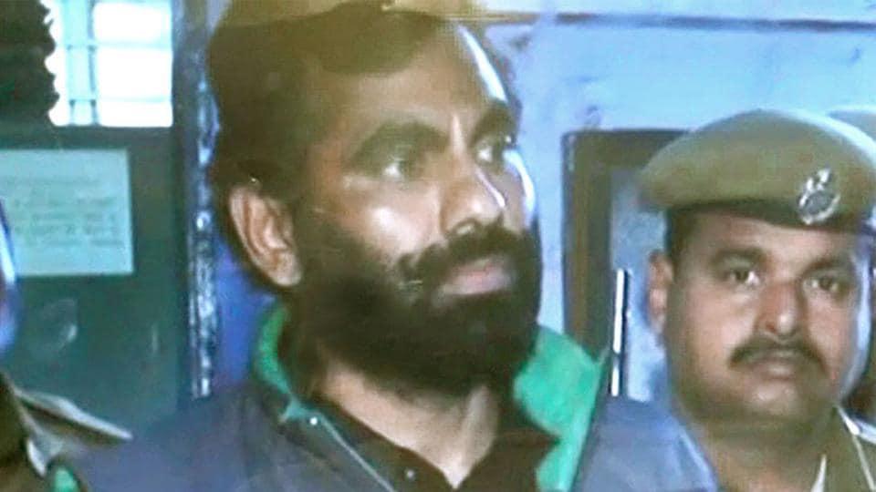 Slain gangster Anandpal Singh.