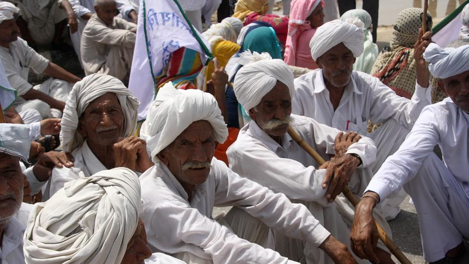There has been a spate of farmer suicides in the state since the violent protests erupted in Mandsaur when five farmers died in police firing during demonstrations to demand a loan waiver and better crop prices.