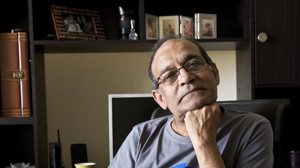 Mukul Sharma at his Gurgaon house.