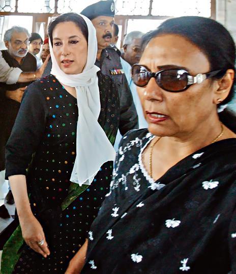 Benazir Bhutto,Naheed Khan,Sabyn Javeri