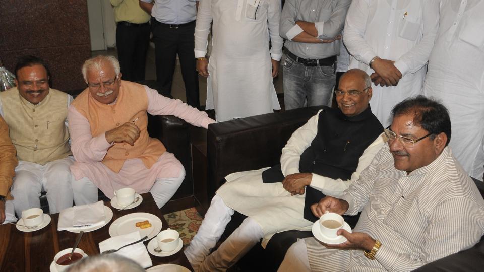 Presidential candidate Ramnath Kovind,Ramnath Kovind in Chandigarh,Presidential elections
