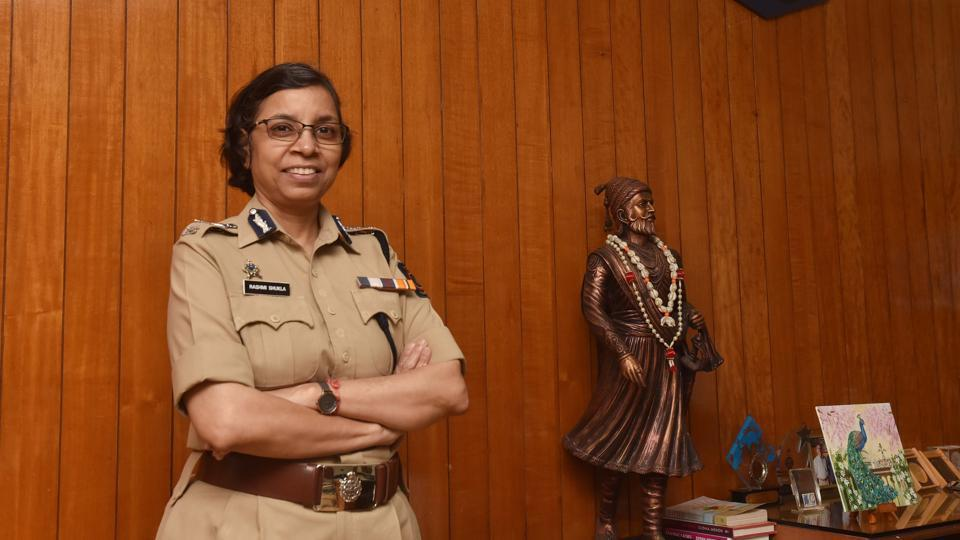 Rashmi Shukla, commissioner of Police, Pune City asked women to not treat themselves different from their male counterparts.