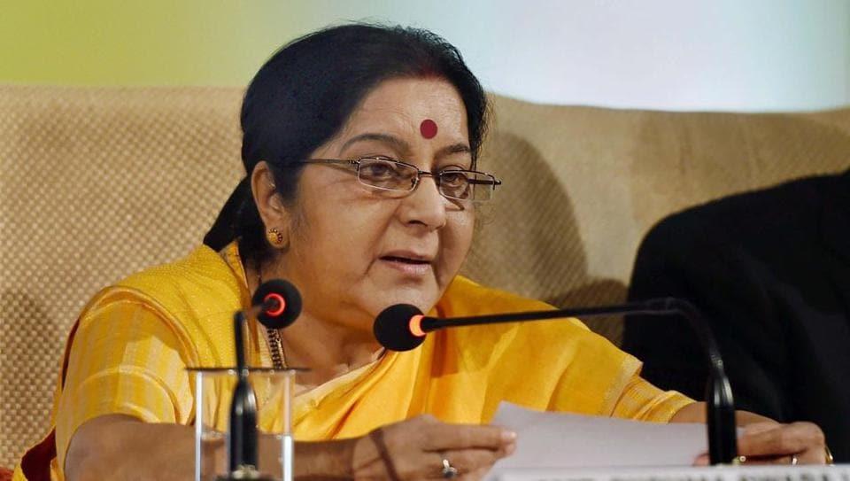 External affairs minister Sushma Swaraj assured all help to a woman jailed in Riyadh.