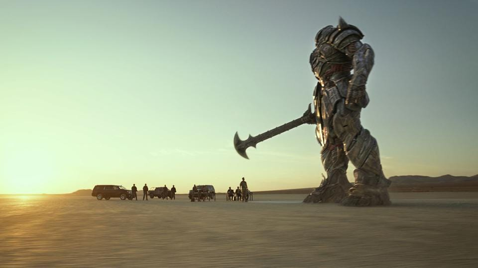 Attributed to four writers, the plot of The Last Knight revives the old fracas between nice CGI metal machines and their nasty counterparts.