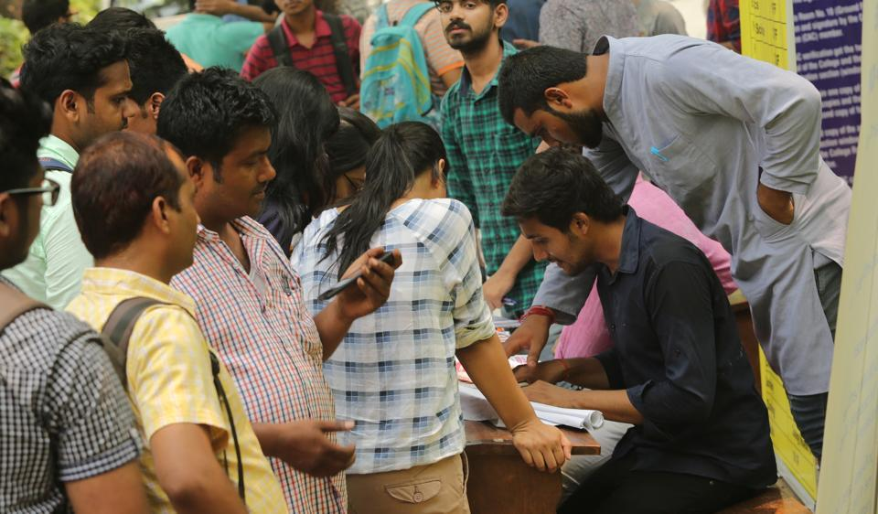 Volunteers at help desks, set-up in various colleges for DUaspirants, share their reasons for helping the freshers.