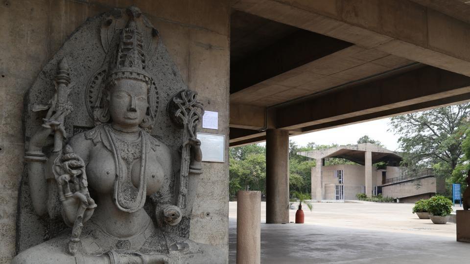 A 12th century AD sculpture of Jian goddess Padmavati.