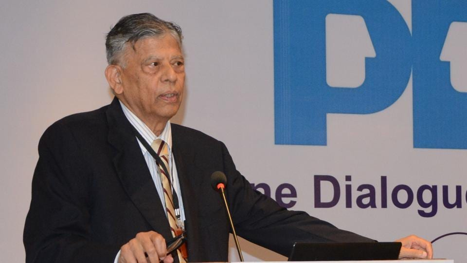 Dr. Vijay Kelkar, former chairman of the 13th Finance Commission and architect of the Goods and Services Tax.