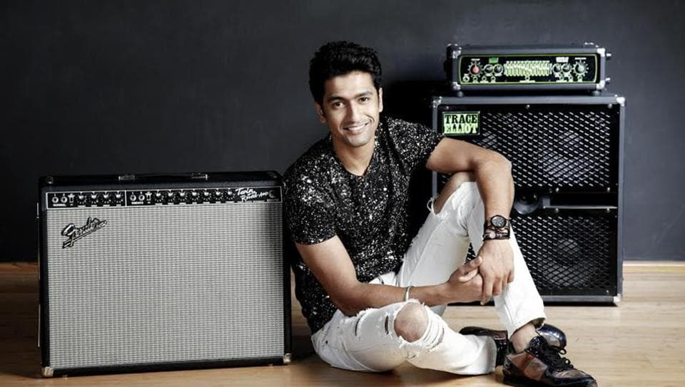 Vicky Kaushal says he is fortunate that directors are trusting him for their projects.