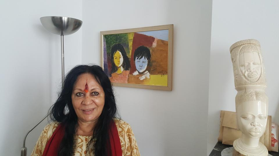 Noted danseuse Sonal Mansingh is currently visiting the UK for a lecture and several workshops.