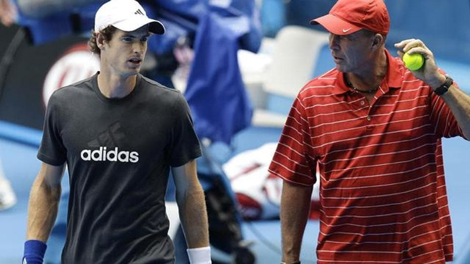 Andy Murray, coached by Ivan Lendl, is aiming for a third Wimbledon title.