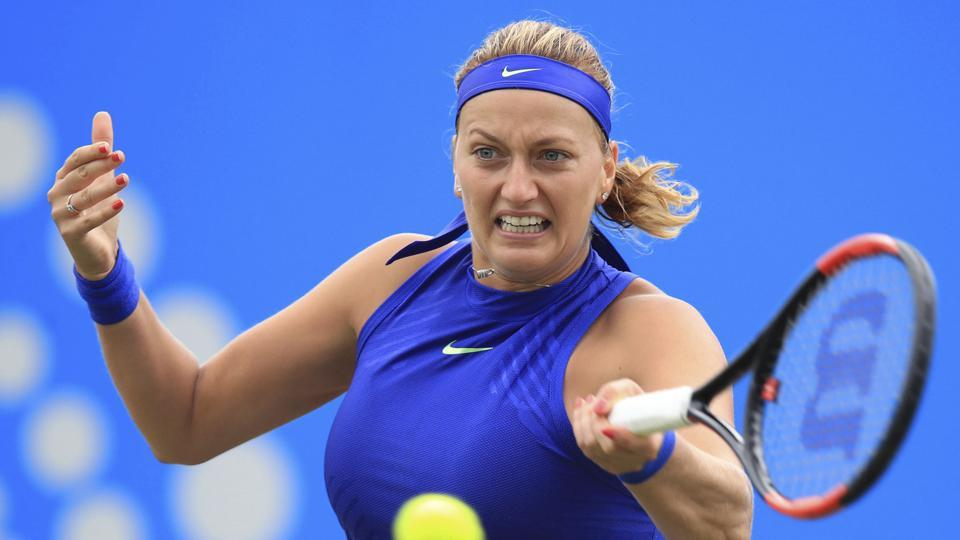 Petra Kvitova returned to action at the French Open after a knife attack. She will play at Wimbledon.