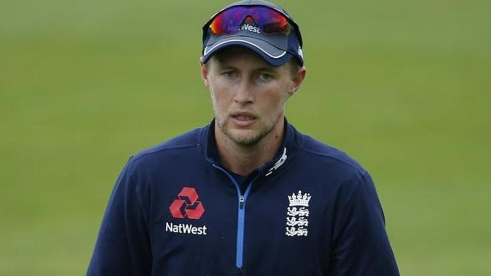 England's Joe Root during nets ahead of their home series against South Africa starting on July 6.