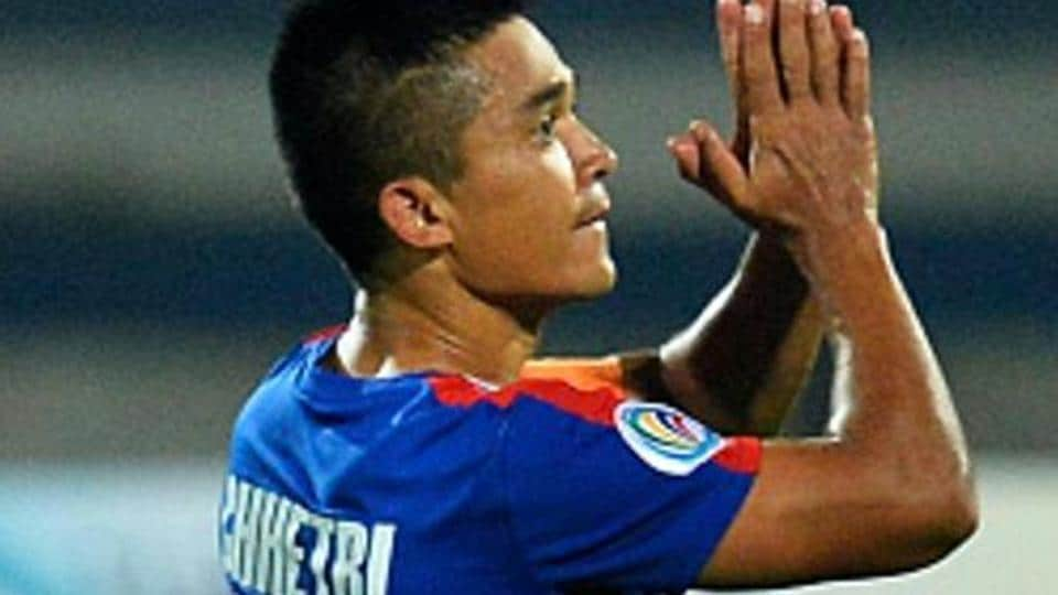 Sunil Chhetri has been a key figure at Bengaluru FC since the club was founded in 2014.