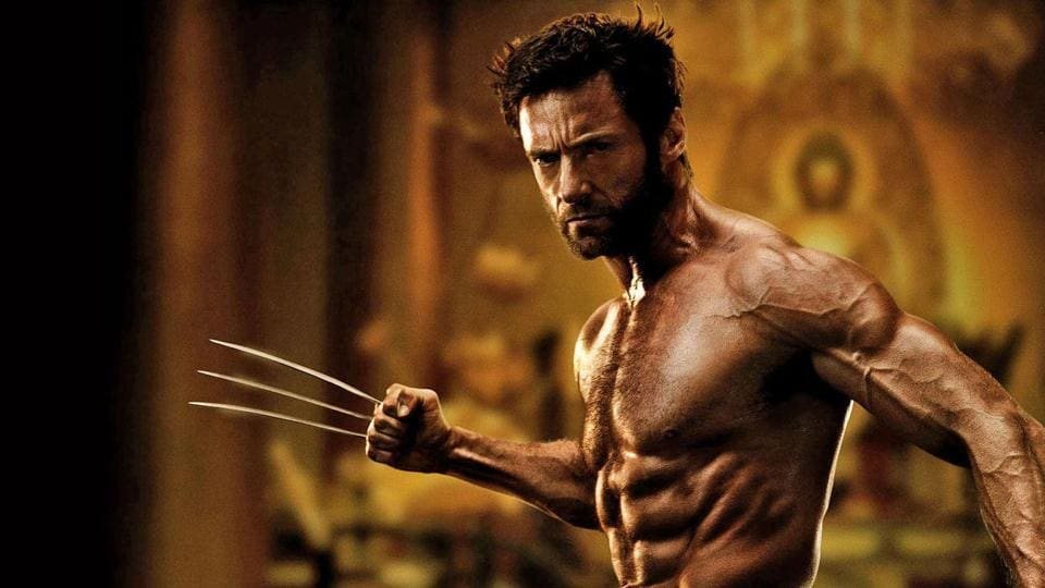 Hugh Jackman played the adamantium-clawed mutant - Wolverine - in the X-Men film franchise.