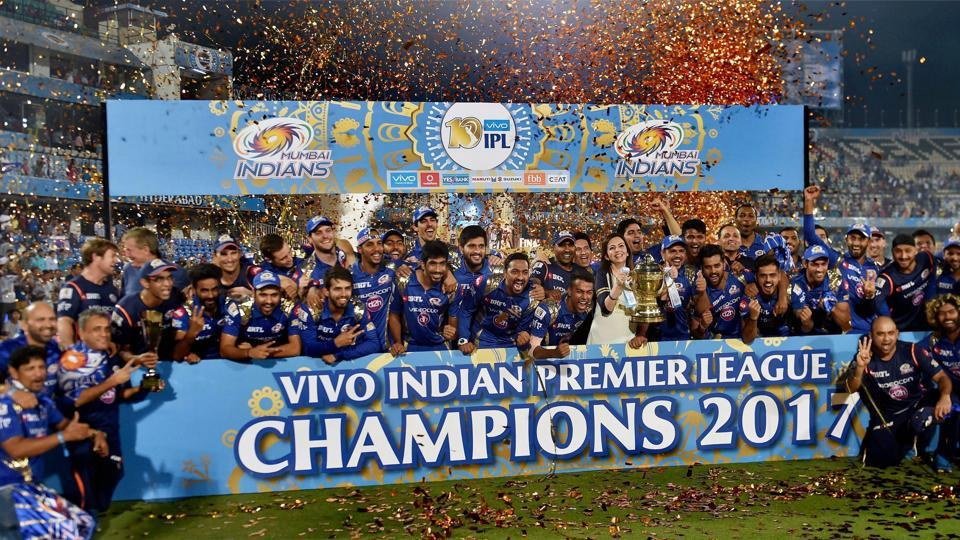 Mumbai Indians won the 2017 edition of the Indian Premier League (IPL).